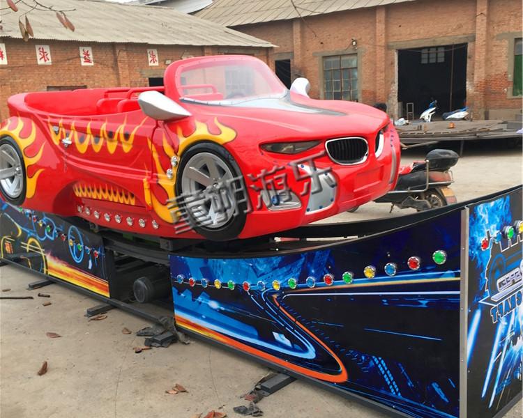 F1红色款弯月飘车