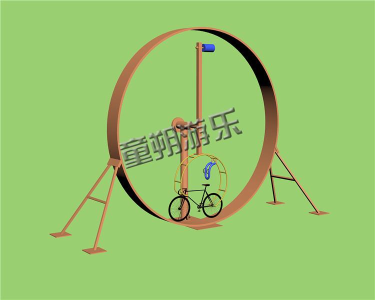 单人网红自行车