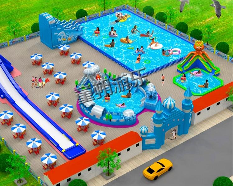 移动水上乐园 小型水上乐园