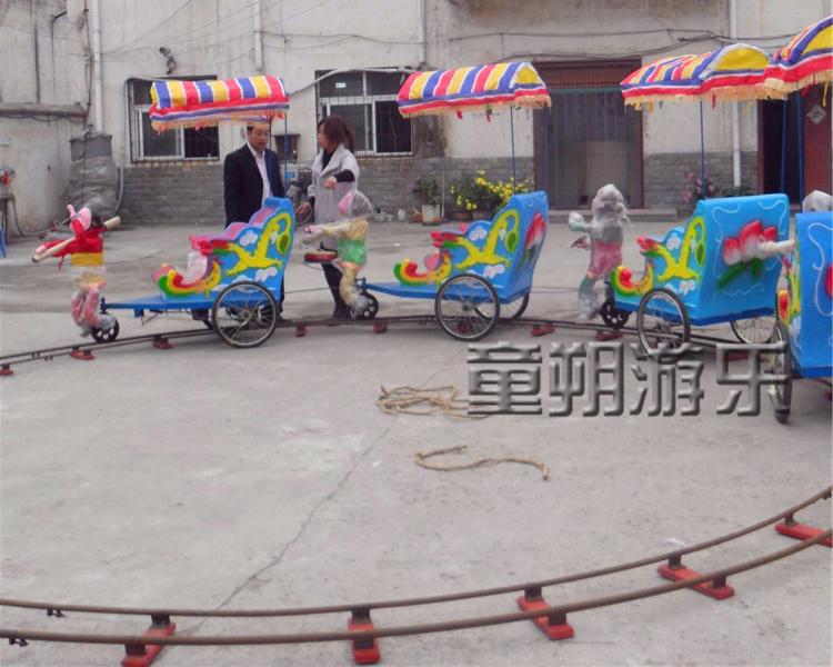 轨道猴子拉车