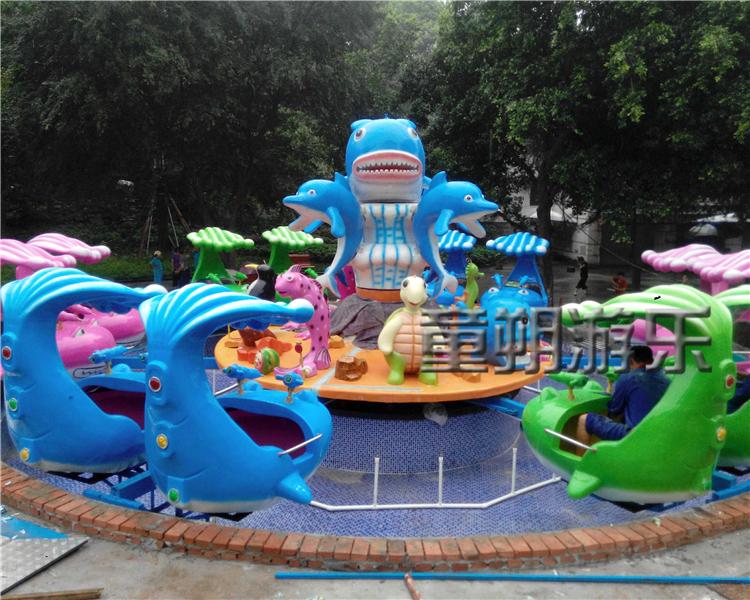 激战鲨鱼岛游乐设备