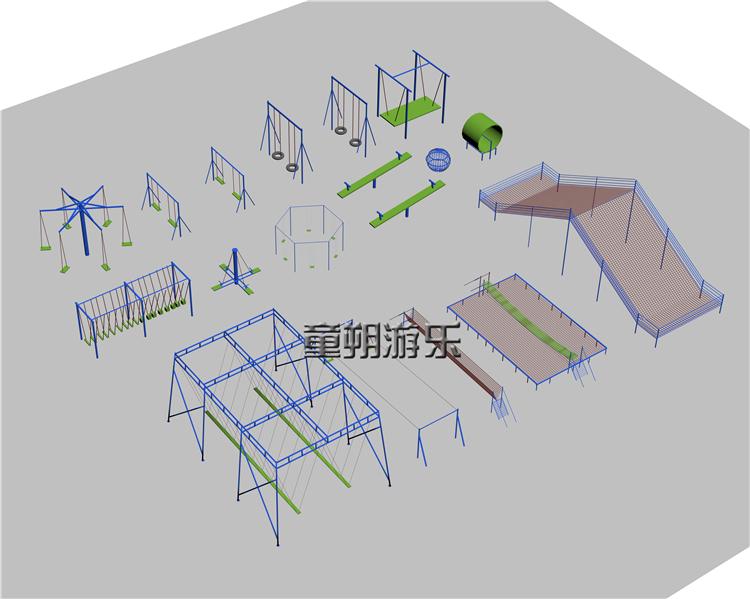 户外体能乐园规划设计