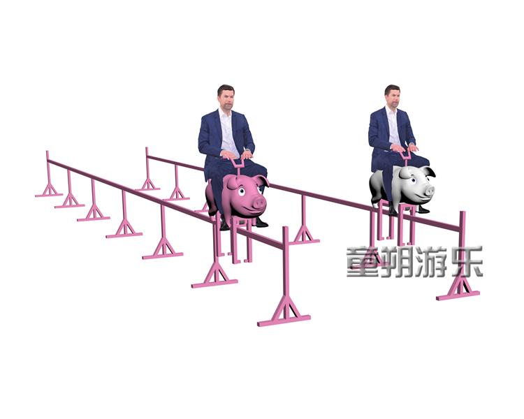 -网红骑猪游乐设备