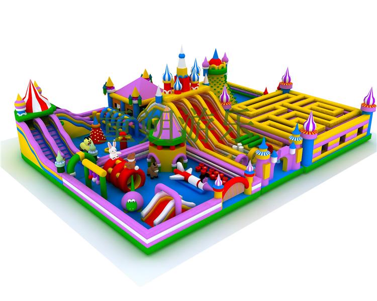 梦幻城堡组合滑梯