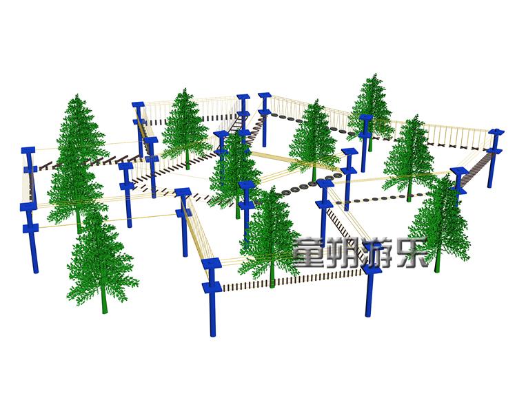 丛林穿梭场地规划设计